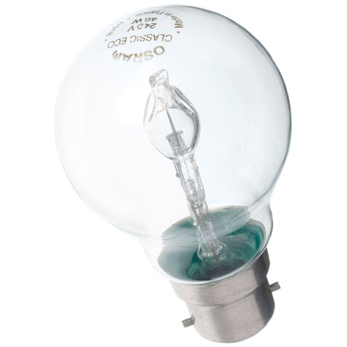 Osram  Halogen Light Bulb - 53W BC