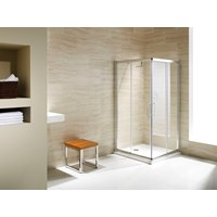 Flair Namara 8mm Corner Entry Door 800mm