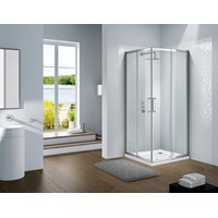 Flair Slimline Capella Corner Entry 800mm