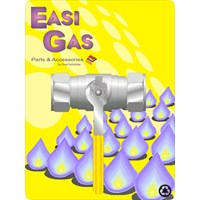 Easi Gas  Copper x Copper Lever Action Ballvalve