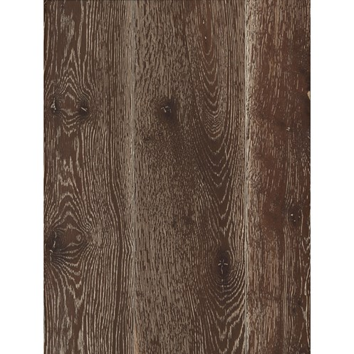 Canadia Alpine Semi Solid Wood Flooring 15mm - Oak Dark Smoked Brushed White Limed Matt