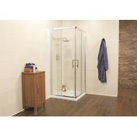 Kristal K2 Semi-frameless Corner Entry Door 800mm