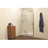Kristal K2 Semi-frameless Pivot Door & Infill Panel 900mm