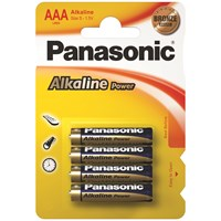 Panasonic  Alkaline Power Batteries - AAA