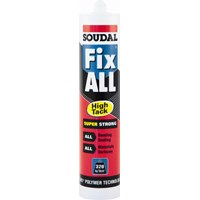Soudal  Fix All High Tack Adhesive White - 290ml