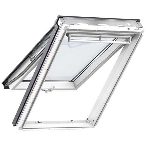 Velux  Double Glazed Top Hung Roof Window White - GPU  0060