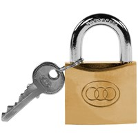 Tri- Circle  Heavy Duty Brass Padlock - 63mm