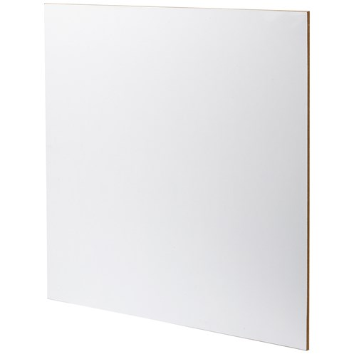 Finsa Fibraplast Melamine Faced MDF Sheet 1200 x 2440mm - White Matt