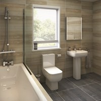 Series 600 5 Piece Bathroom Suite